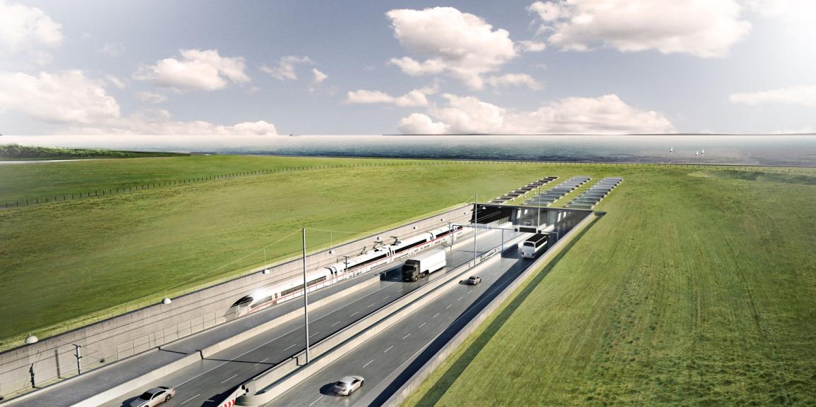 Femern Belt will connect Denmark and Germany by a tunnel
