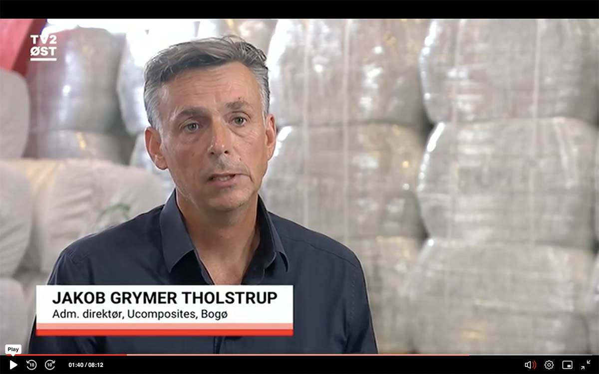 Ucomposites on Danish television: Best-in-class on sustainability