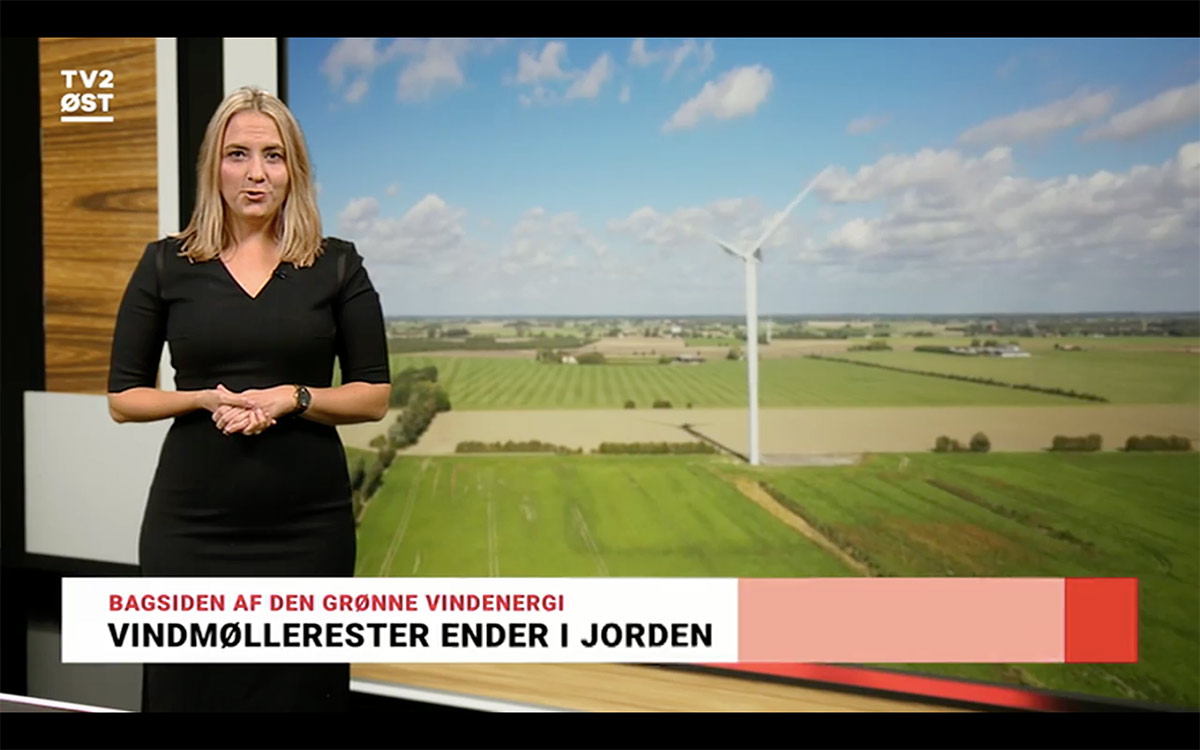Ucomposites on the TV News: Pioneer in upcycling of wind turbine rotor blade waste