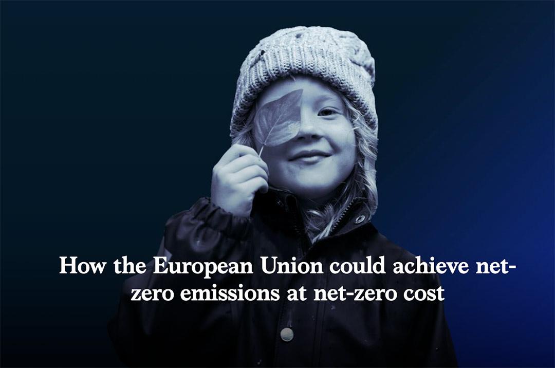 How the European Union could achieve net zero emissions at net zero cost